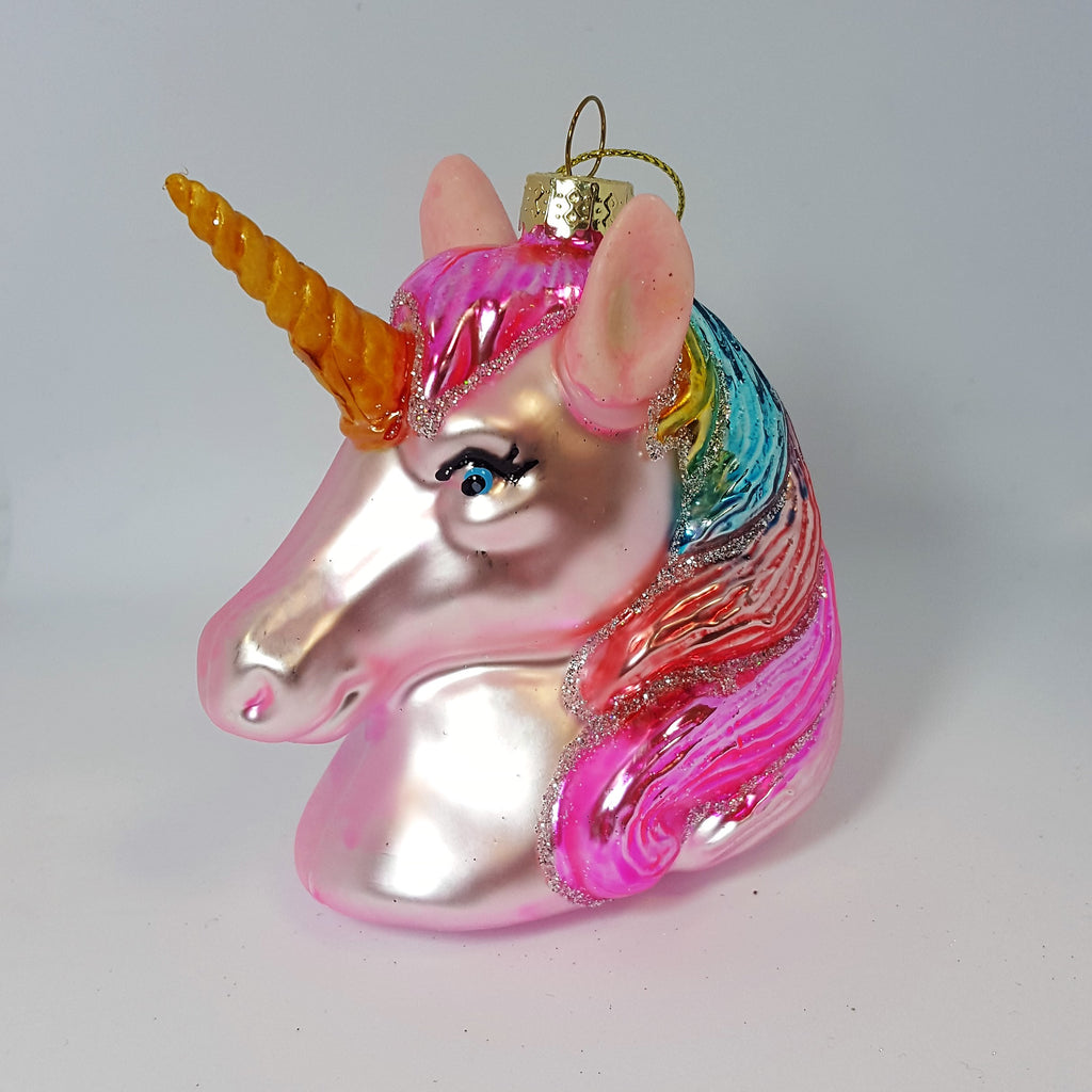 UNICORN HEAD DECORATION