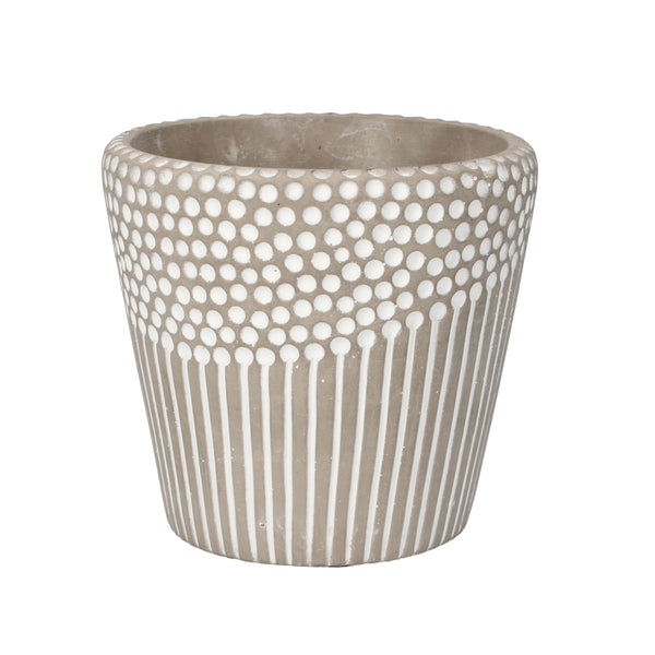 SPOT AND LINES POT COVER - SML