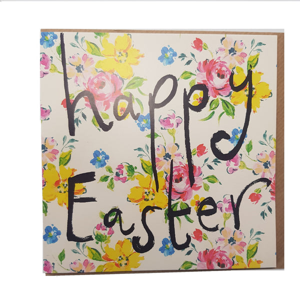 EASTER CARD-  LG  SQUARE