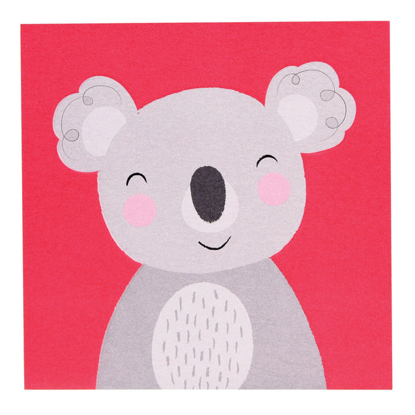 KOALA ANIMAL FRIEND CARD