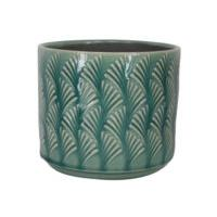 GREEN FAN WAVE POT COVER