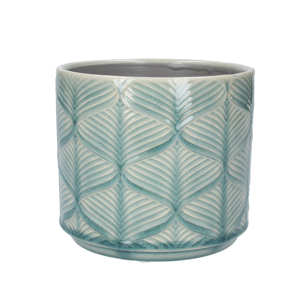 MINT WAVE POT COVER - SML
