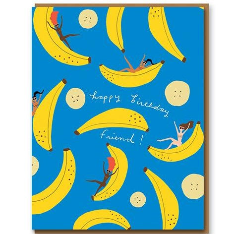 BANANA PARTY CARD