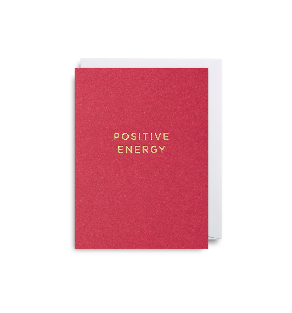 POSITIVE ENERGY MINI CARD