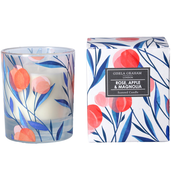 ABSTRACT TULIPS CANDLE