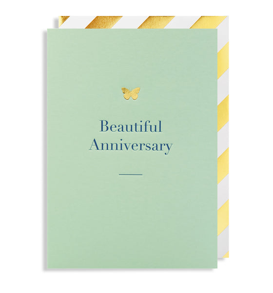 BEAUTIFUL ANNIVERSARY WISHES CARD