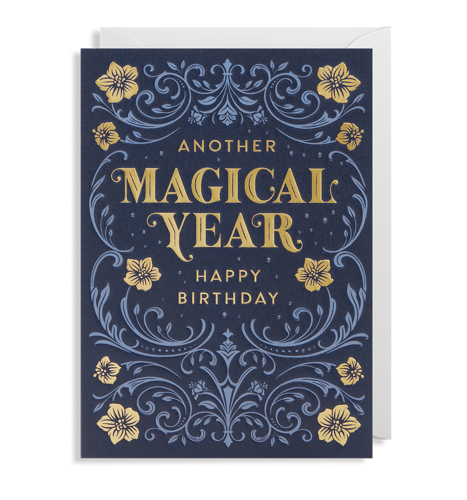ANOTHER MAGICAL YEAR CARD