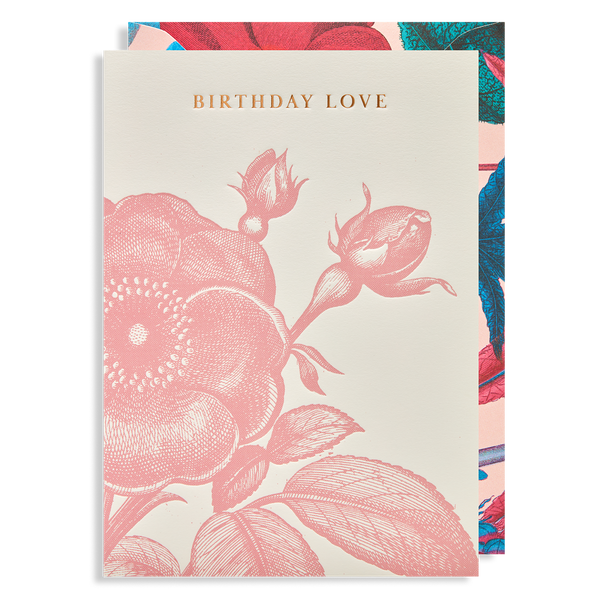 BIRTHDAY LOVE ROSE CARD