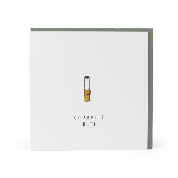 CIGARETTE BUTT CARD