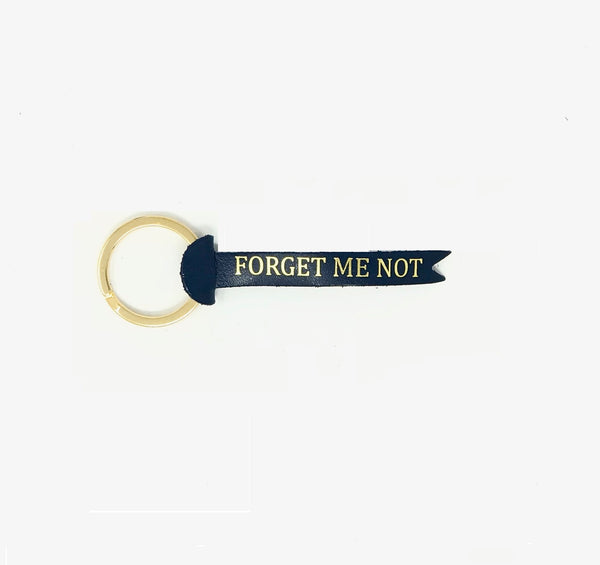 FORGET ME NOT KEYRING - BLUE