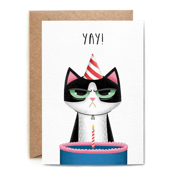 YAY CAT CARD