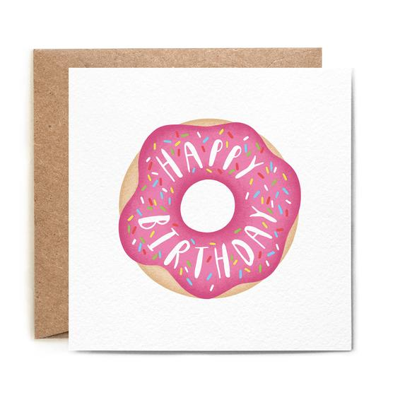 BIRTHDAY DOUGHNUT CARD