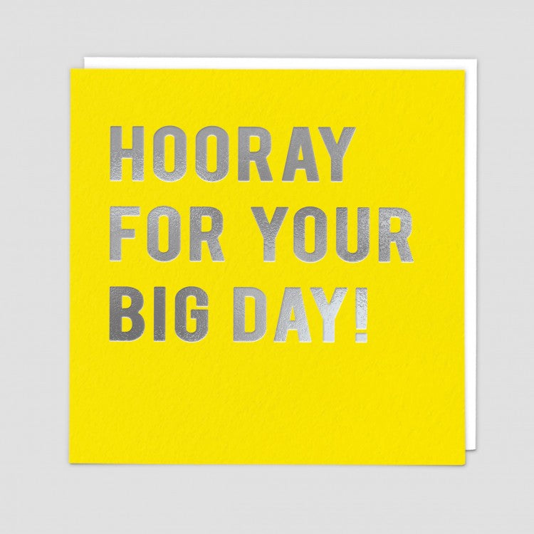 HOORAY BIG DAY CARD