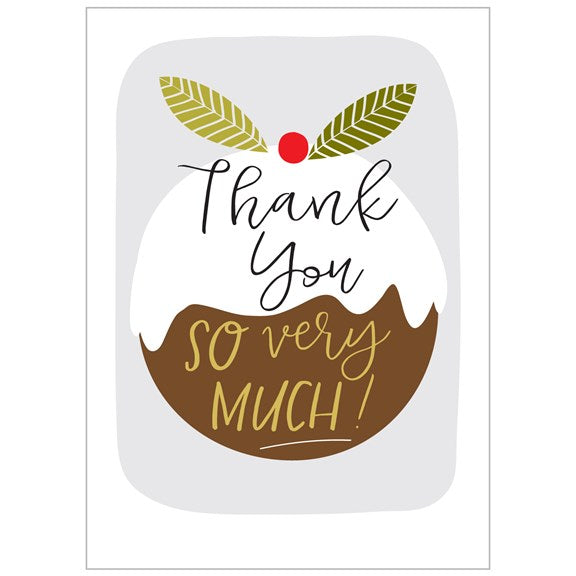 THANK YOU CHRISTMAS CARD SET