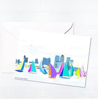 LONDON REGATTA CARD
