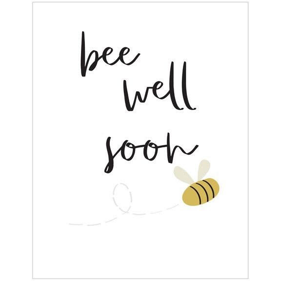 BEE WELL SOON CARD