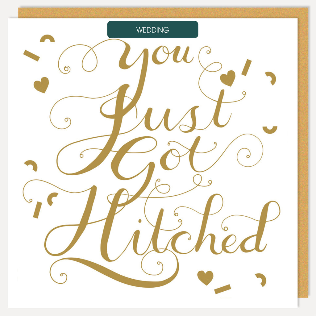 YOU GOT HITCHED CARD