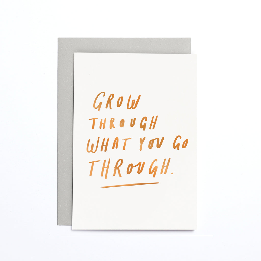 GROW THROUGH SMALL CARD
