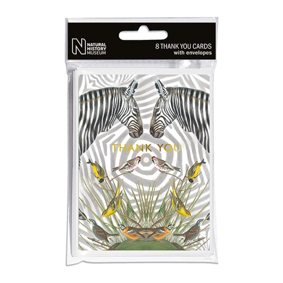 ZEBRA THANK YOU CARD SET