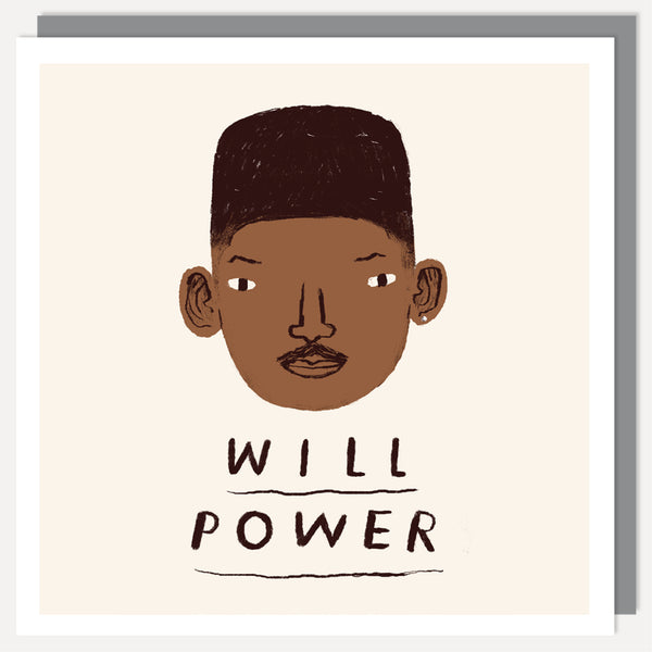 WILL POWER CARD
