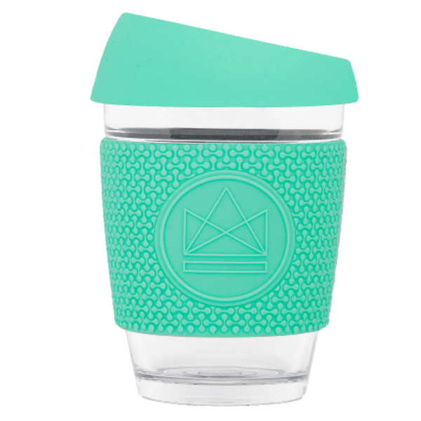 GLASS TRAVEL CUPV - MINT