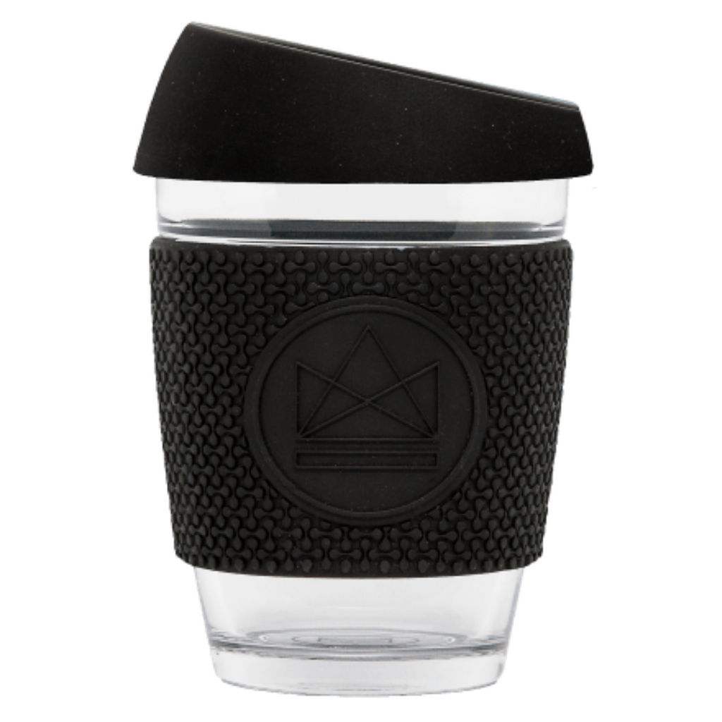 GLASS TRAVEL CUPV - BLACK