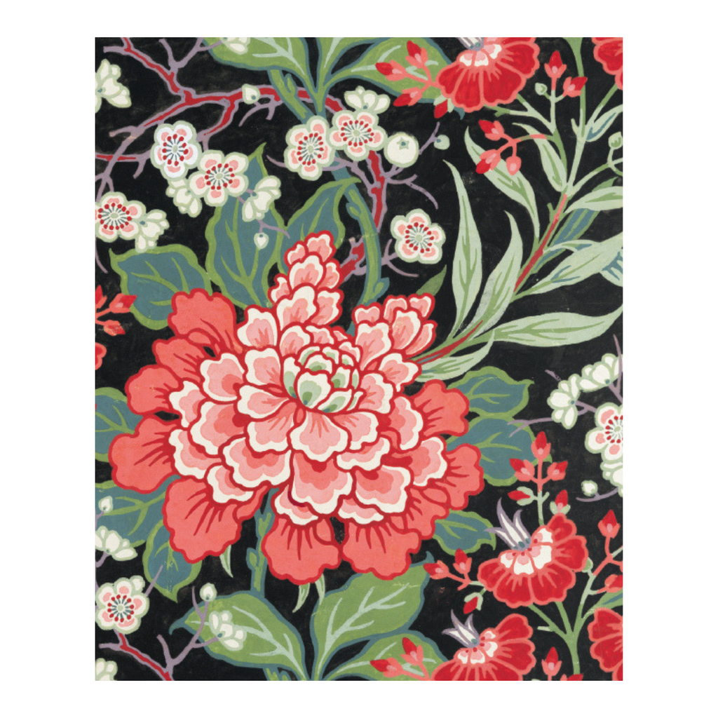 BUTTERFIELD FLORAL CARD