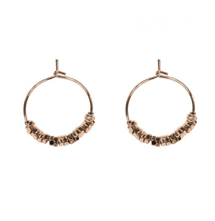 CLOVER GOLD EARRINGS