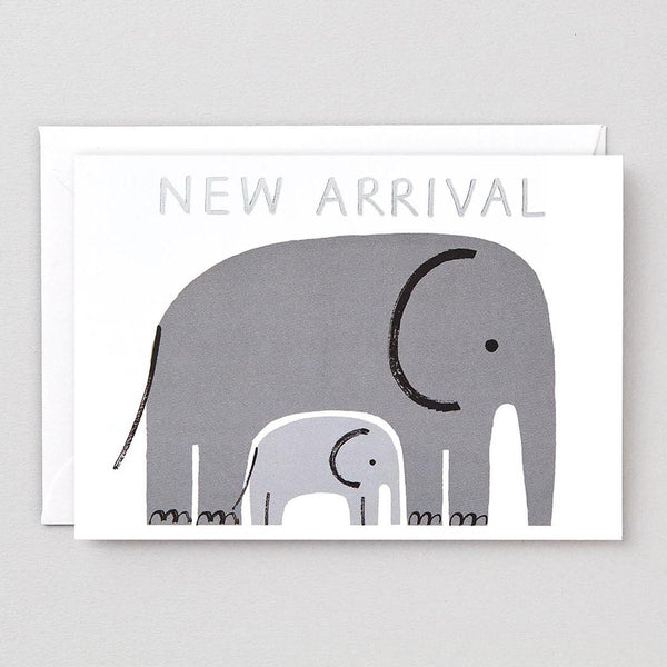 ELEPHANT NEW ARRIVAL CARD