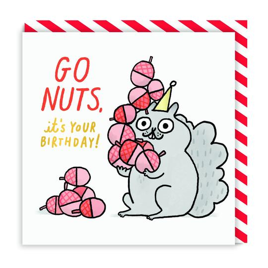 GO NUTS CARD