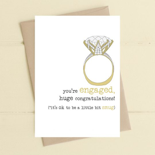 ENGAGED CARD