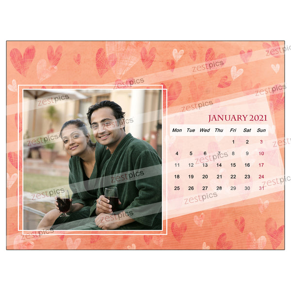 2021 Picture Calendar - Personalized Photo Calendar Printing Online | Zestpics