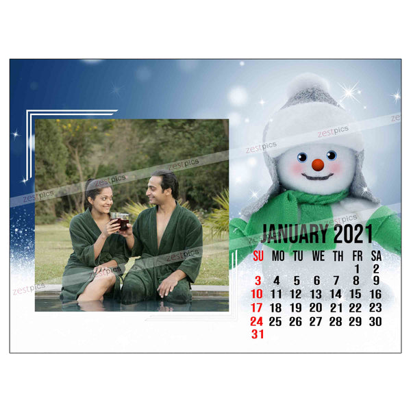 Buy Photo Calendar 2021 | Personalised Calendar online at Zestpics