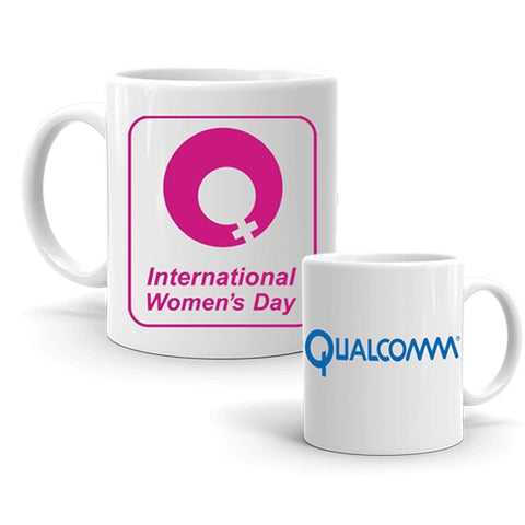 Women's Day Mugs with Company Logo, Women's Day Gifts at Zestpics, India