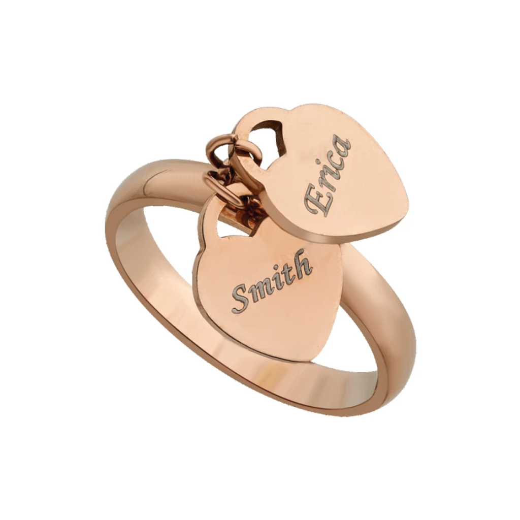 Personalized Rings | Name Rings, Promise Rings for Couples at Zestpics