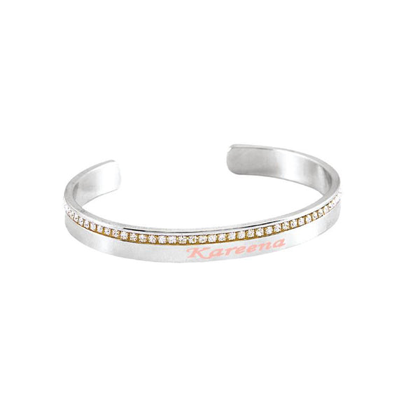 Buy Name Bangle for Teen Girls Personalized Name Bracelets Jewelry Gift for Friends. Browse our wide range of personalized bracelets for her.