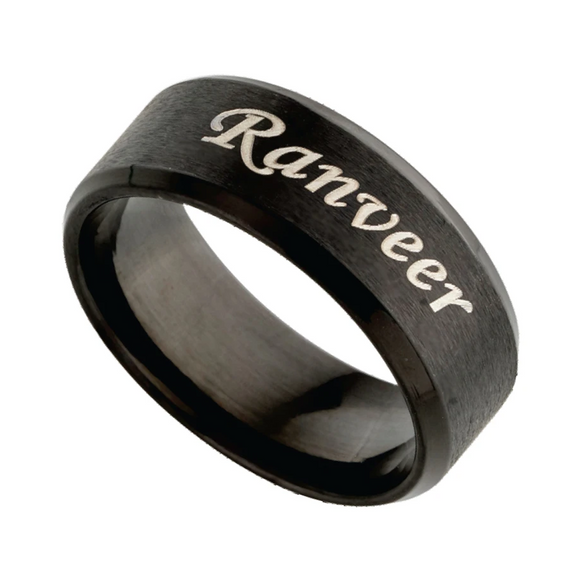 Name Rings | Personalized Name Rings Online at Zestpics