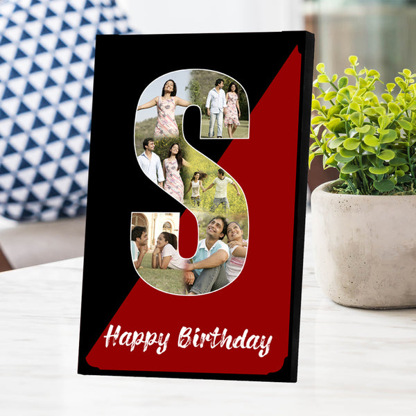 Alphabet Photo Frame | Anniversary Gifts | Birthday Gifts | Zestpics