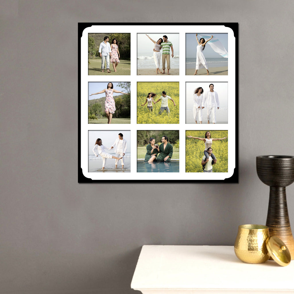 Collage Photo Frame, 9 Photos Collage Frame, Birthday Gifts | Zestpics