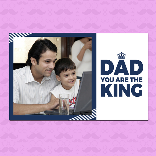 Birthday Gift for Dad | Father's Day Gifts | Dad you are the King Magnet