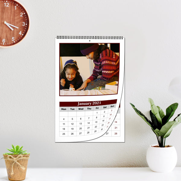 Personalized Photo Wall Calendars 2021 & Custom Calendar | Zestpics