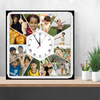 Personalised Photo Clock | 12 Photos Table Clock | Photo Clocks | Zestpics