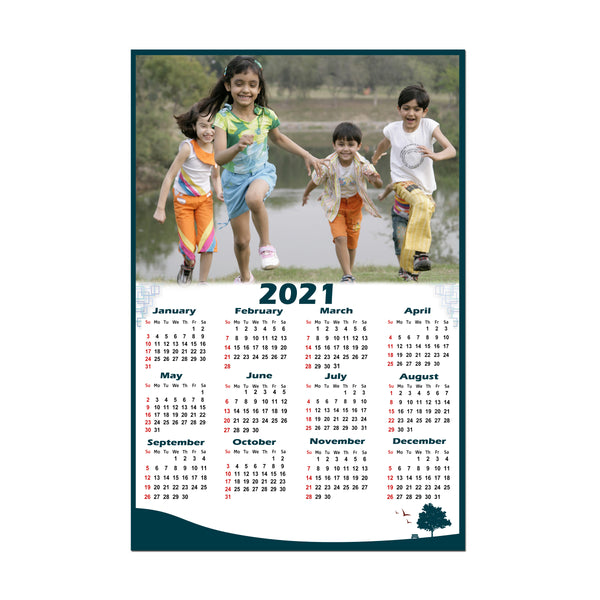 2021 Personalized yearly calendar, Custom calendars online, Photo calendars online in India