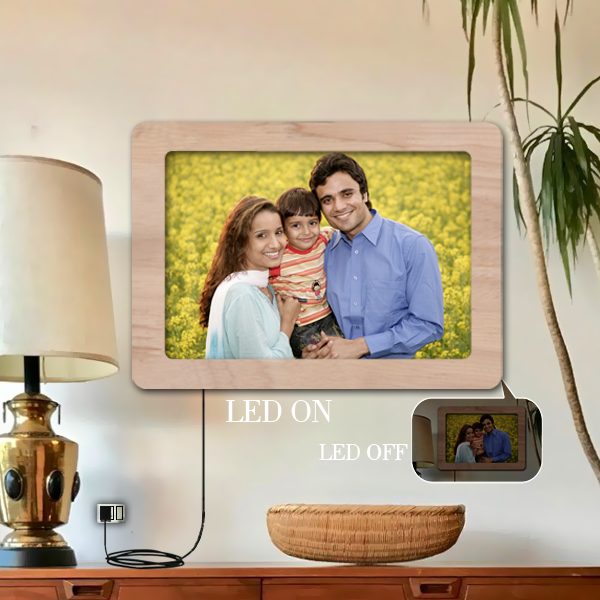 Buy, Send LED Picture Frame, Design Your Own LED Photo Frame to India|Zestpics