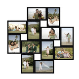 Buy online personalized 12 pictures 4x6 inches size collage frame in hyderabad, India. Buy photo frames & collage online at low prices in India. High quality photo collage frames