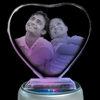 Laser 2D photo engraved crystal heart cube is the perfect gift for wife, husband, Valentine Day, Weddings, Anniversaries, Birthday, Mother's & Father's Day. Birthday Gift Ideas for Wife & Husbands. Perfect Personalized Proposing Gifts anytime you want to say I Love You. Buy Personalized Propose Day Gifts Online at Zestpics, Hyderabad, India