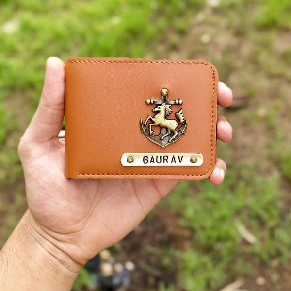 Custom Wallets for Men, Personalised Mens Wallet with Charm | Zestpics