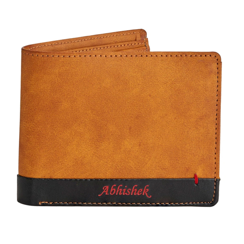 Buy/ Send Personalized Wallets for Him - Customized Wallets for Him online | Zestpics