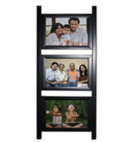 3 Photos 4x6 Ladder Frame-Collage Frames-Zestpics