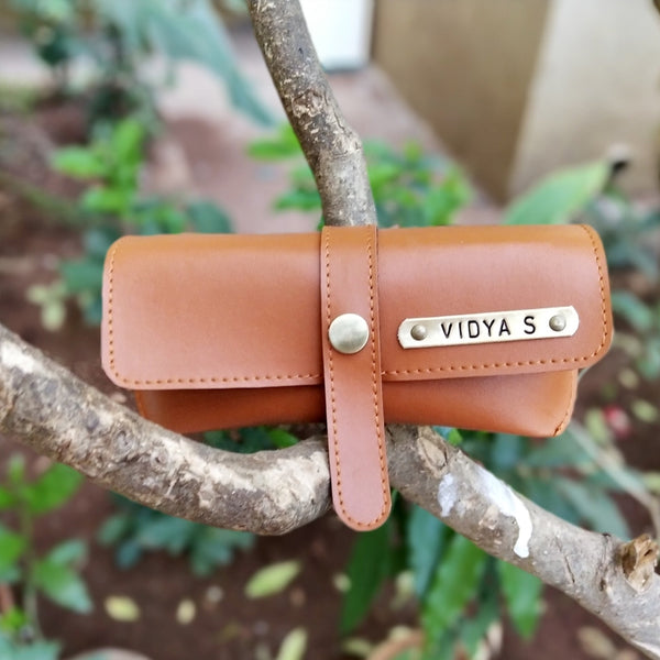 Eyeglass Case | Eyewear Case | Leather Glasses Case | Zestpics